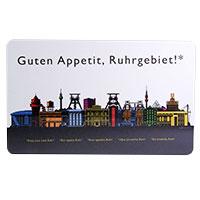 Frühstücksbrettchen im Revier-Style: Guten Appetit, Ruhrgebiet!