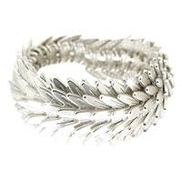 Armband - silver mermaid -