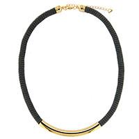 Halskette -Leatherlike Gold- aus dem Hause Halcour