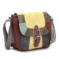 Handtasche Valerie Yellow / Multicolor vom Trend-Label Noi Noi