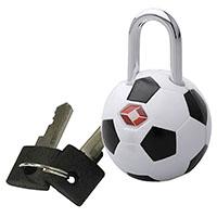 Kofferschloss -Fußball-