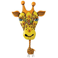 Wanduhr - Jaffy, die Giraffe - vom US-Kult-Label Allens Design