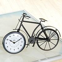 Aparte Tischuhr in Fahrrad-Form