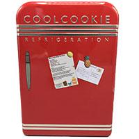 Coolcookie: Stylische Geschenkdose in Form eines Retro-Kühlschranks