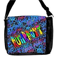 Umschlagtasche mit stylischem Ruhrpott-Graffiti