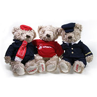 airberlin Teddy-Trio