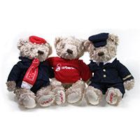 airberlin Teddy-Trio
