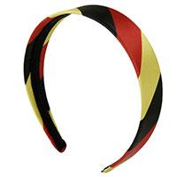 Haarreif Schwarz-Rot-Gold