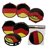 Tamburin im Deutschland-Design