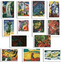 Postkarten-Set: Franz Marc