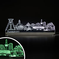 LED Skyline Ruhrpott