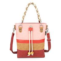 Apart verspielte Handtasche: Chipo Dark Red vom Trendlabel Noi-Noi