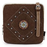 Amara Dark Brown – aparte kleine Handtasche vom Trend-Label Noi-Noi