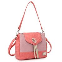 Handtasche Blossom Red/Pink vom angesagten Kult-Label Hi-Di-Hi