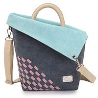 Raffiniert designte Handtasche Iris Dark Blue vom Kult-Label HI-DI-HI