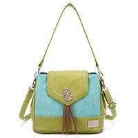 Handtasche Blossom Green/Aqua vom angesagten Kult-Label Hi-Di-Hi