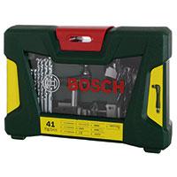Bosch 41-tlg. Bohrer und Bit-Set mit Winkelschrauber