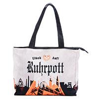 Handtasche - Ruhrpott- kompakter Shopper vom Kult-Label Robin Ruth