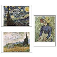 3er-Postkarten-Set Vincent van Gogh