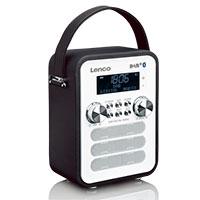 DAB+ Radio - Lenco PDR-050 - schwarz