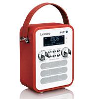 DAB+ Radio - Lenco PDR-050 - rot