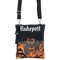 Brustbeutel - Ruhrpott - mit Skyline, Schlägel und Eisen