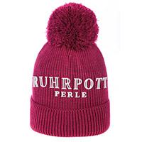 Zauberhafte Bommel-Mütze - Ruhrpott-Perle -