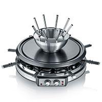 Raclette-Fondue Kombi