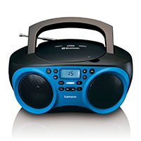 Lenco Radio blau