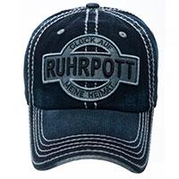 """Stylisches Jeans-Cap """"Ruhrpott – Glück auf – Meine Heimat""""!"""