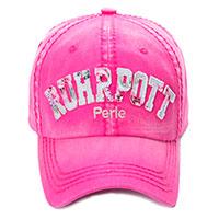 "Basecap ""Ruhrpott-Perle"" in zauberhaftem Pink!"
