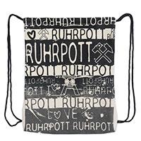 Turnbeutel - Knut - im Design Ruhrpott - Design Robin Ruth