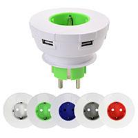 USB Steckdose in diversen Farben
