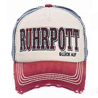 Stylisches Cap von Robin Ruth - Ruhrpott – Glück auf -