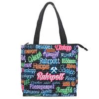 "Kompakte Ruhrpott-Tasche ""Elmira S Neon"" aus dem Hause Robin Ruth"