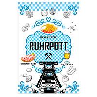 """Geschirrtuch """"Ruhrpott"""" mit köstlichem Revier-Design!"""