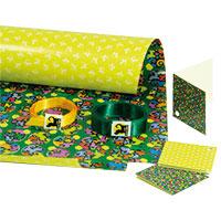 perro negro Geschenkpapier-Set - Weihnachten -