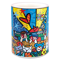 ROMERO BRITTO Motivkerze -In the Park-