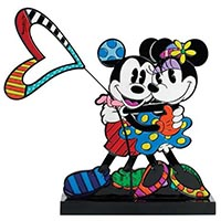 Mickey & Minnie Love Plaque