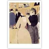 Henri de Toulouse Lautrec - Au Moulin Rouge