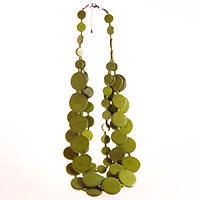 Holzkette -Green- Design by Kyokya