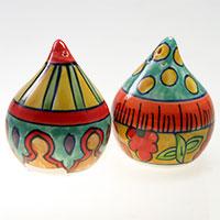 Keramikstreuer Salz & Pfeffer - Tropfenform