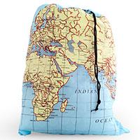 Wäschebeutel -Maps-