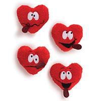 Miniplüsch -Heart Throbs-