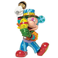 Mickey Mouse im Sambakostüm - Figur von Disney by BRITTO