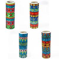 Handbemalte Keramik-Blumenvase