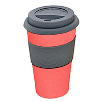 Natur-Design Becher Coffee to Go - rot