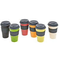 Natur-Design Becher -Coffee to go-