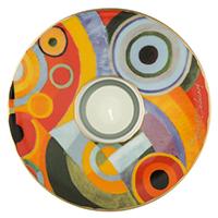 Robert Delaunay Teelicht  -Lebensfreude-