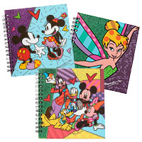 3er-Set Notizbücher - Disney by BRITTO